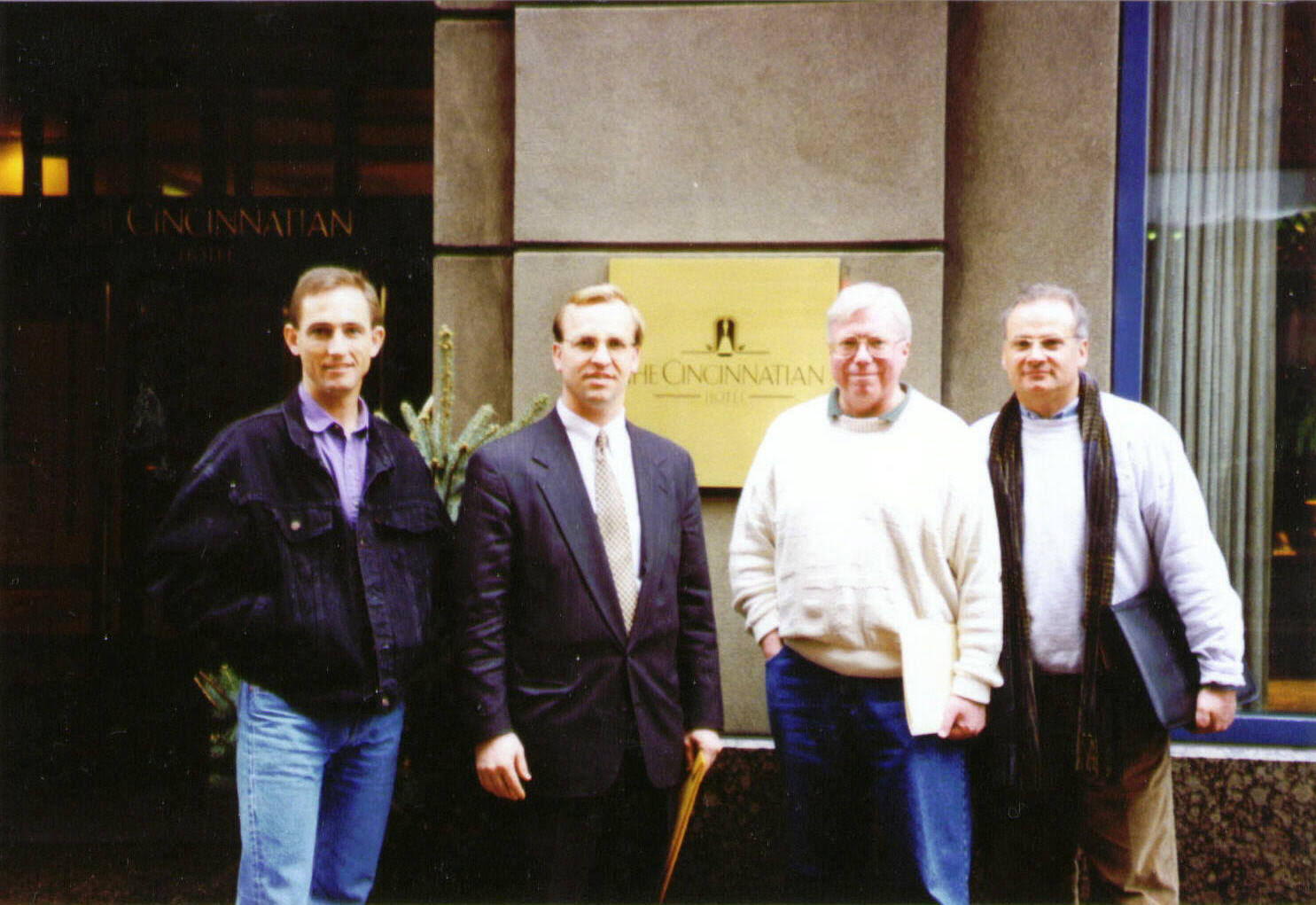 1995 Photo Brad Corsi Mel and Ron